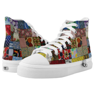 PATCHWORK-1 HIGH TOPS