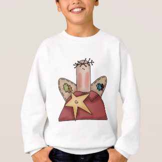 Patchwork Angel Sweatshirt