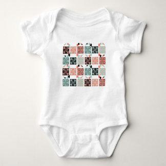Patchwork Baby Bodysuit