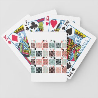 Patchwork Bicycle Playing Cards
