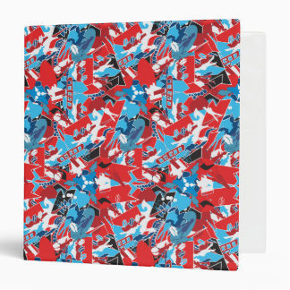 Patchwork bright pattern. Urban bright style Binders