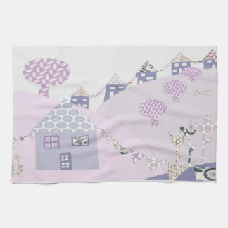 Patchwork Country Houses Towels