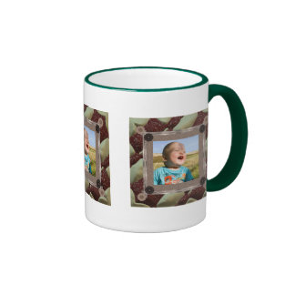 Patchwork Enthusiast Photo Frame Ringer Mug