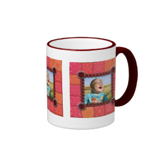 Patchwork Enthusiast Photo Frame Coffee Mug
