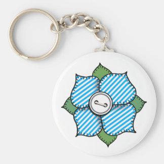 Patchwork Flower - 013 Keychains