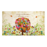 Patchwork Flower Tree Damask Tags