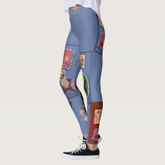Patchwork Garden Leggings