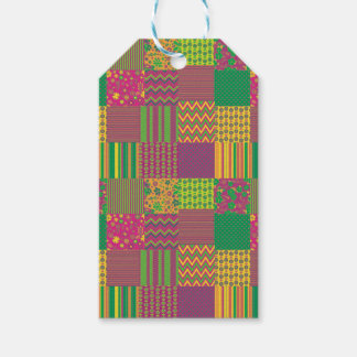 Patchwork Gift Tags