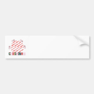 Patchwork 'Grandmum'  Photo Frame Bumper Sticker