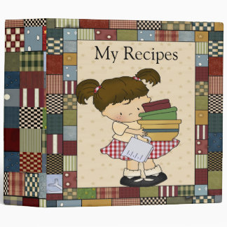 Patchwork II Recipe Binder / 2 Inch