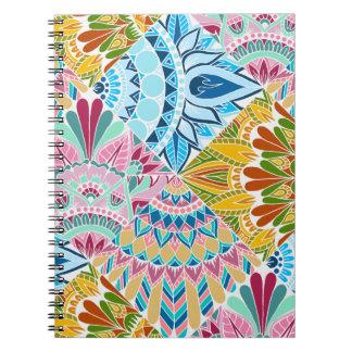Patchwork Mandala Design Notebook