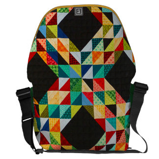 Patchwork Messenger Bags