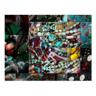 Patchwork of Beads Gift Range Postcard