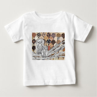 Patchwork Owls 2 Baby T-Shirt