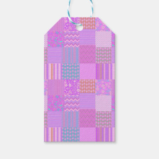 Patchwork Pack Of Gift Tags