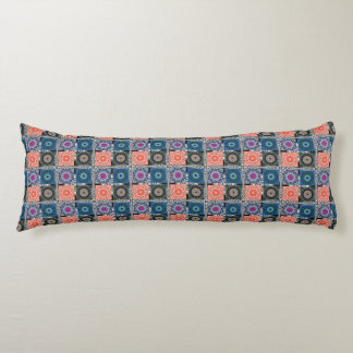 "Patchwork Pattern Cotton Body Pillow ( 20"" x 54"")"