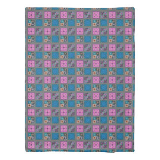 Patchwork Pattern Duvet Cover