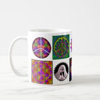 Patchwork Peace Coffee Mug
