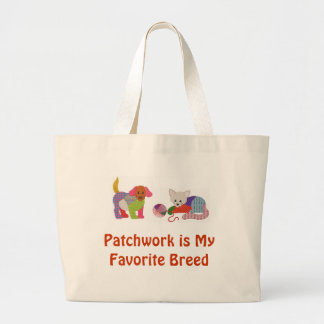 Patchwork Pets Pride Tote Jumbo Tote Bag