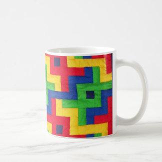 'Patchwork Quilt' Coffee Mug