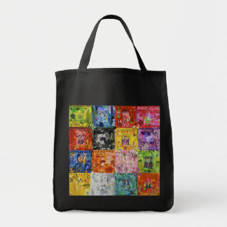 Patchwork Quilt Grocery Tote