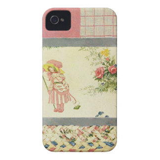 Patchwork Quilt Phone Case in Pink