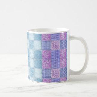 Patchwork Shabby Chic 11 oz Classic White Mug