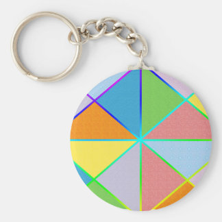 Patchwork Sprinkles Keychain