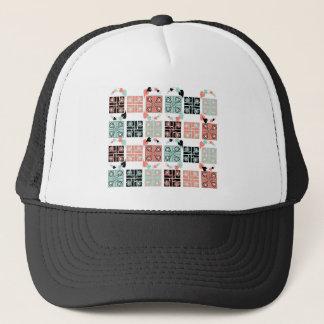 Patchwork Trucker Hat