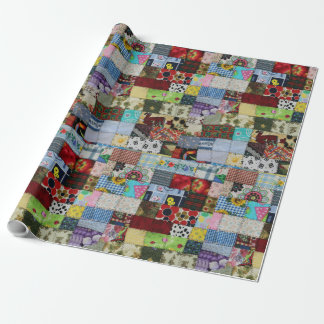 PATCHWORK WRAPPING PAPER