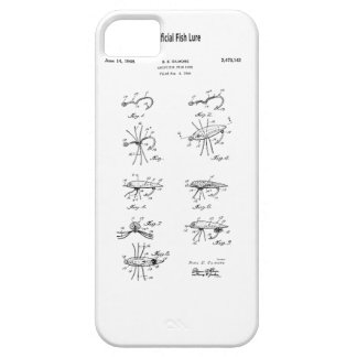 Patent Artificial Fish Lure iPhone 5 Covers