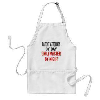 Patent Attorney Grillmaster Standard Apron