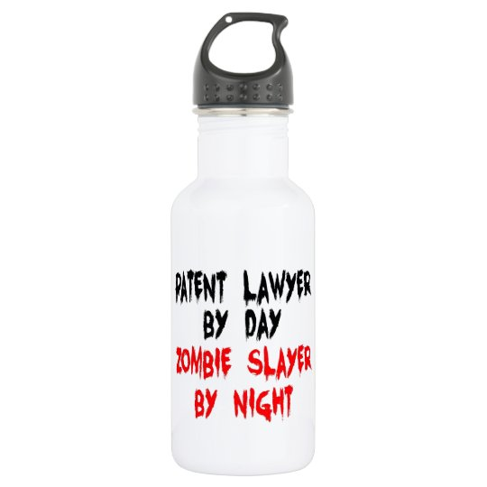 Patent Lawyer Zombie Slayer 532 Ml Water Bottle