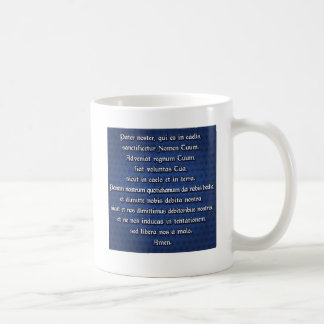 Pater Noster, Our Father Coffee Mug