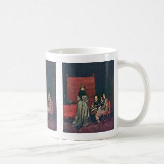 Paternal Admonition,  By Gerard Ter Borch Coffee Mug