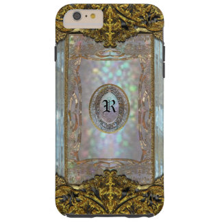 Paternost Glitzy Ritz Monogram  6/6s Tough iPhone 6 Plus Case
