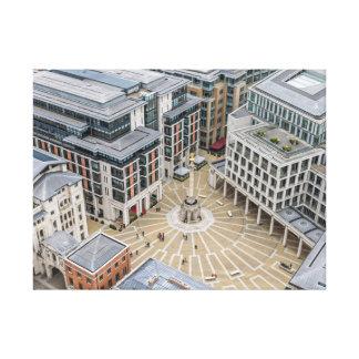 Paternoster Square, London canvas print