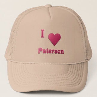 Paterson -- Hot Pink Trucker Hat