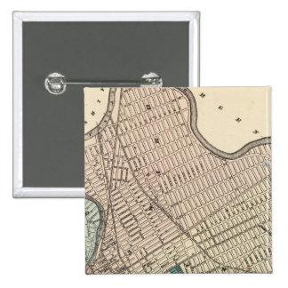 Paterson, New Jersey 2 Inch Square Button