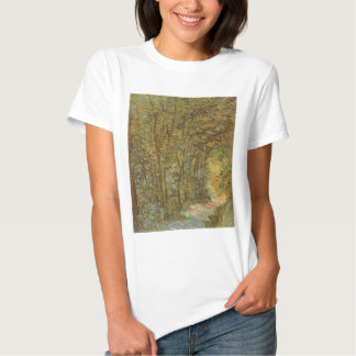 Path in the Woods by Vincent van Gogh, Vintage Art T Shirts