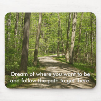 Path in the Woods Mousepad