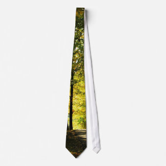 Path in the Woods Necktie