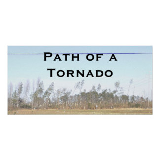 Path of a Tornado... Poster