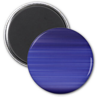 Path of blue lights 2 inch round magnet