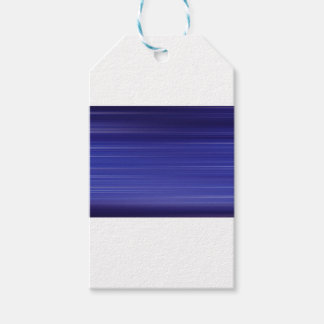 Path of blue lights gift tags