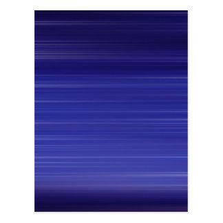 Path of blue lights postcard