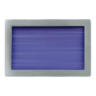 Path of blue lights rectangular belt buckles
