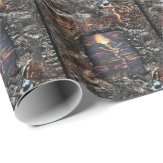 Path of Life Burnt Offering Wrapping Paper