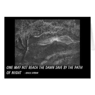 Path of night card
