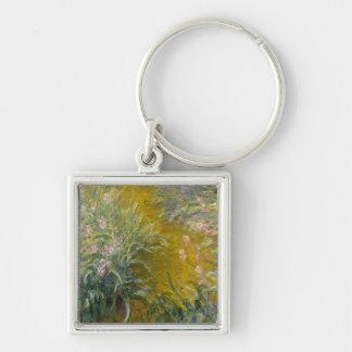 Path through the Irises Keychain